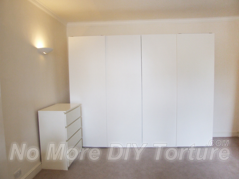 Flatpack Wardrobes Delivery And Assembly Service