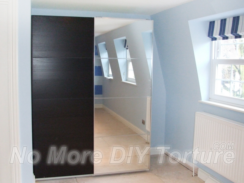 IKEA-Pax-Malm-Mirror-Sliding-Door-Wardrobe